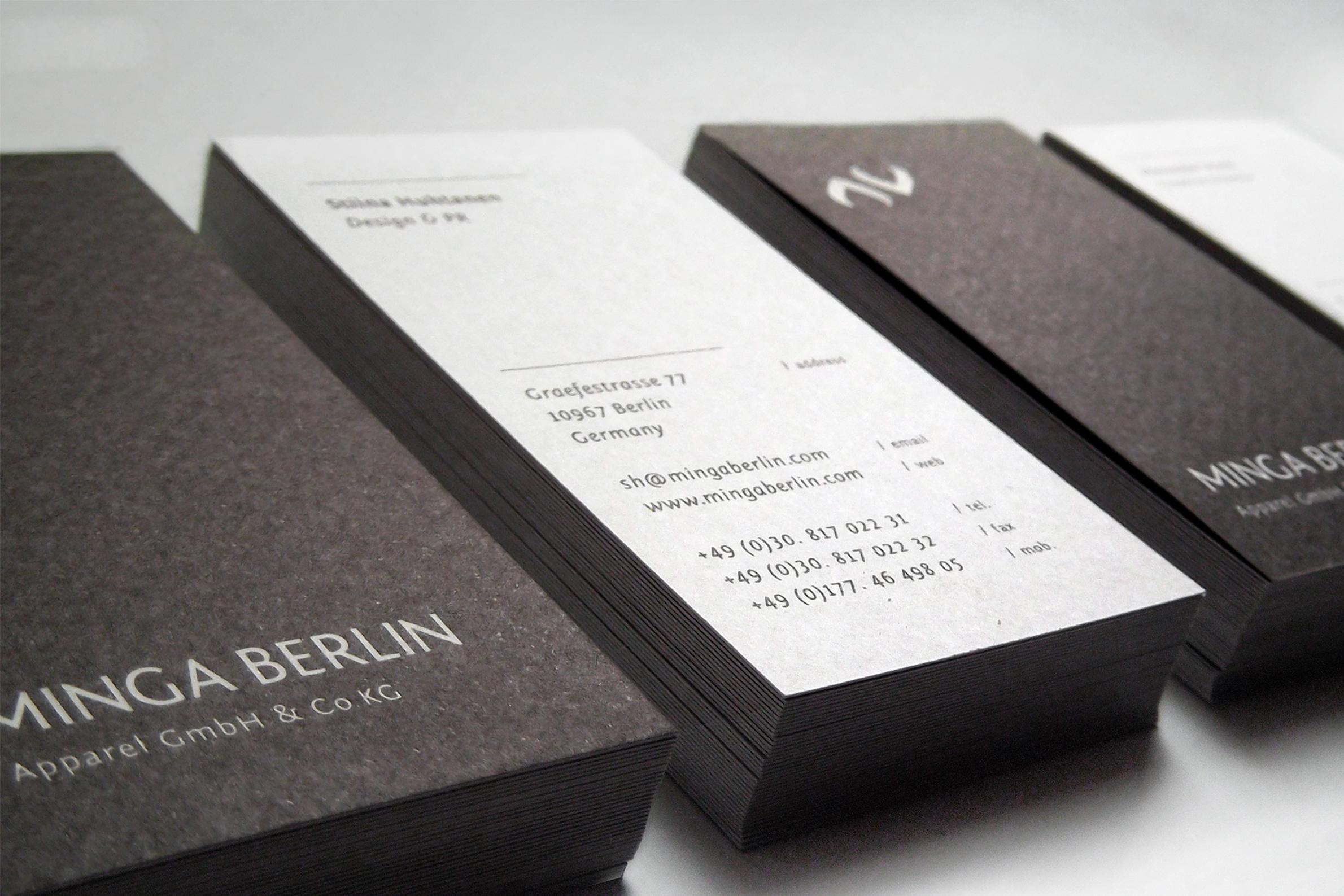 Minga Berlin Socks / Branding, Web, Print