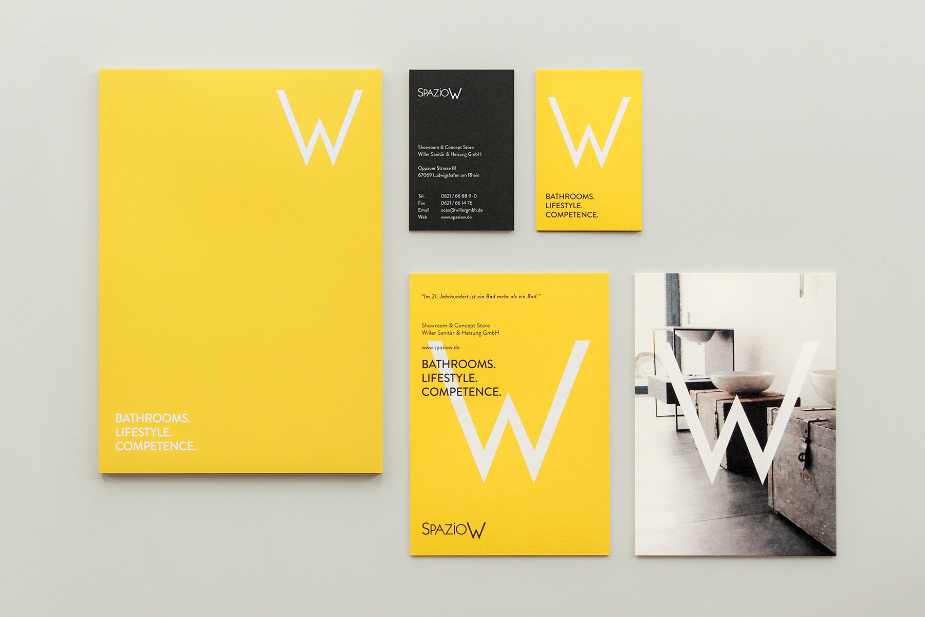Spazio W - Bathroom Interiors / Corporate Design