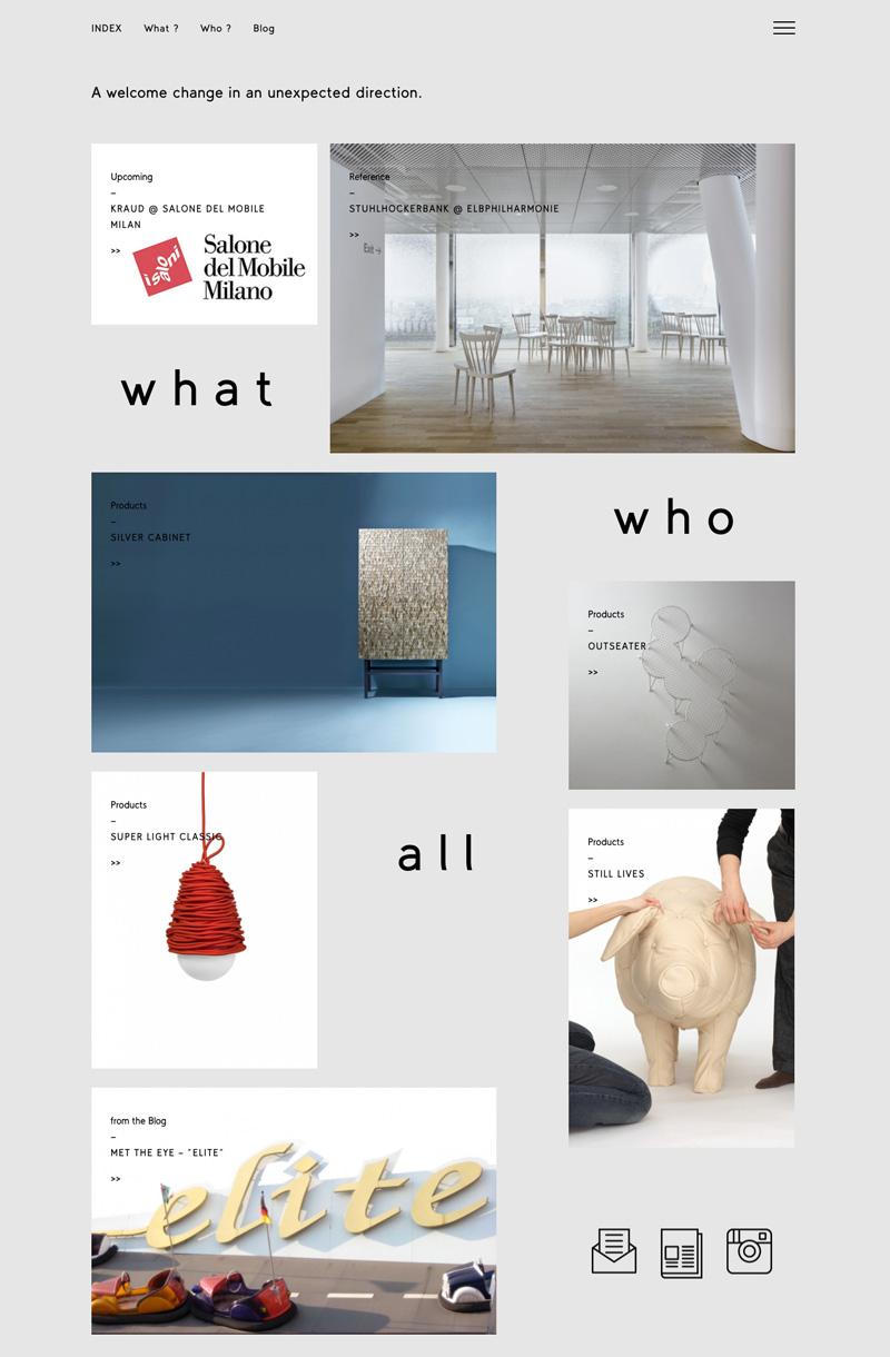 &Kraud / Webdesign & Entwicklung