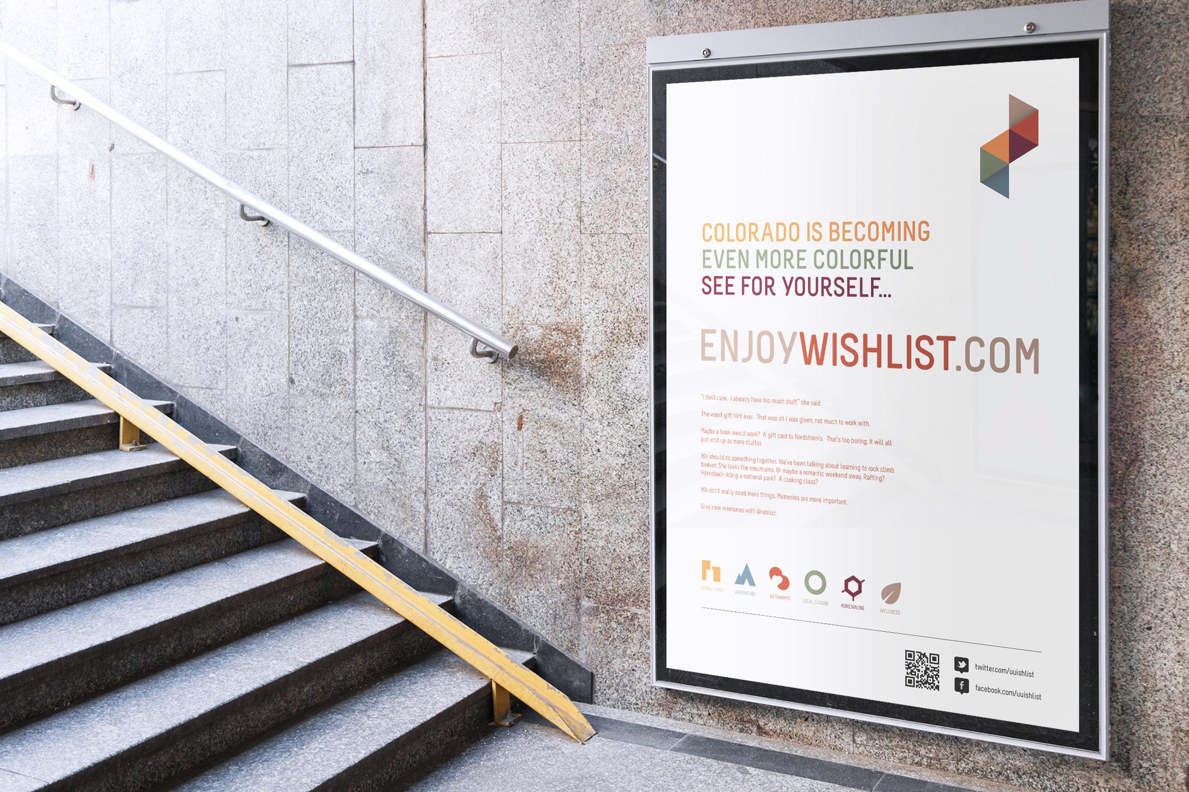 Wishlist Colorado / Identity, Screen, UI