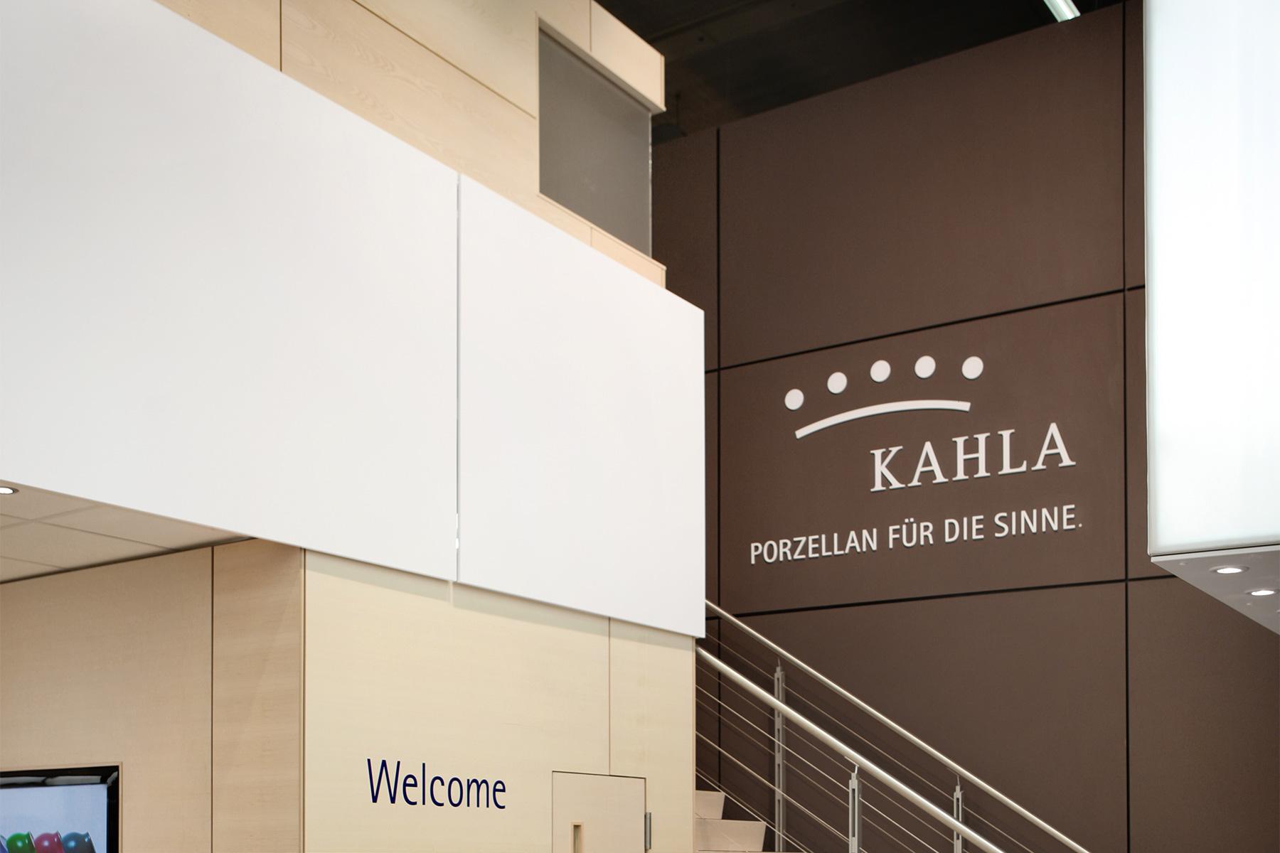 Kahla Porzellan / Markenarchitektur