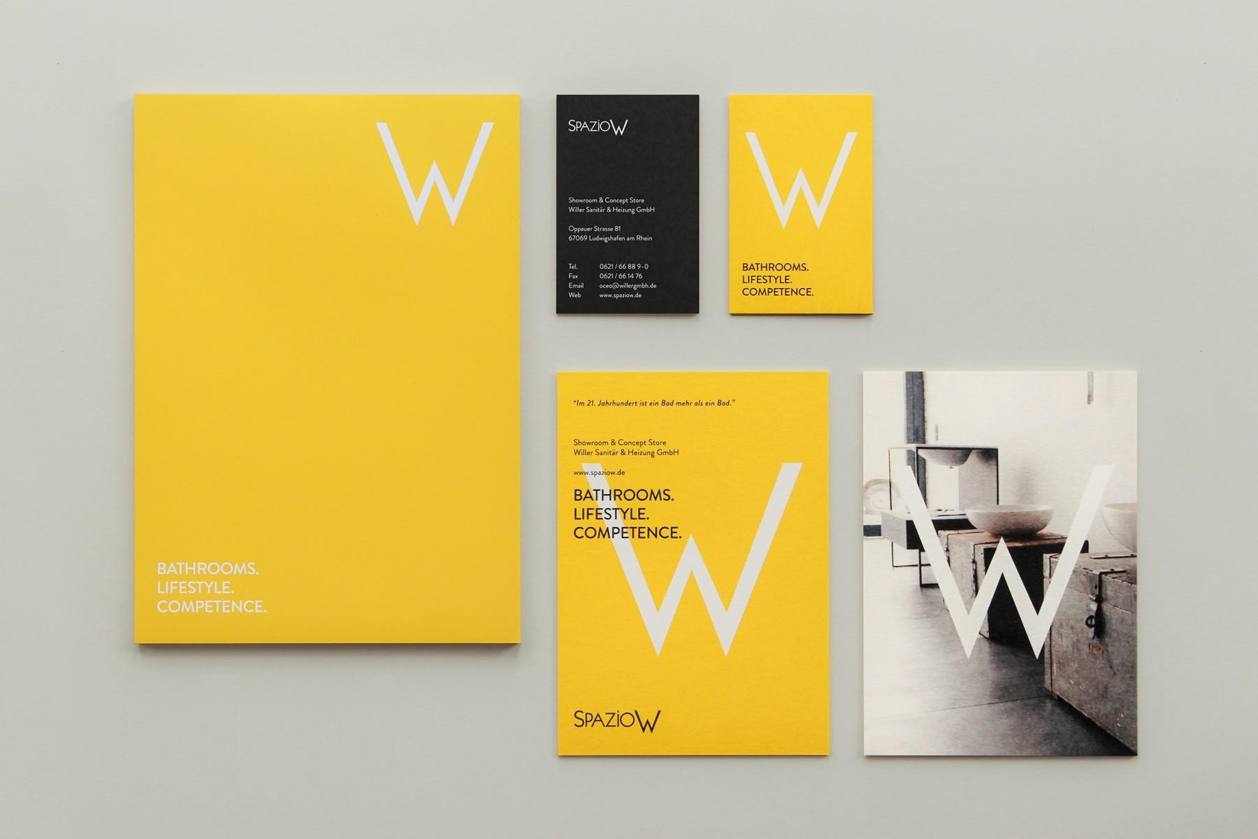Spazio W / Corporate Design