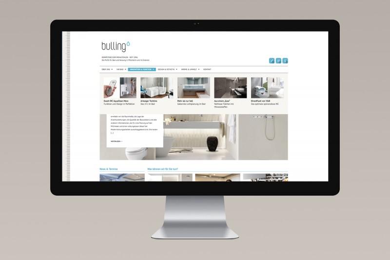 Bulling / Branding, Web, visuelle Kommunikation