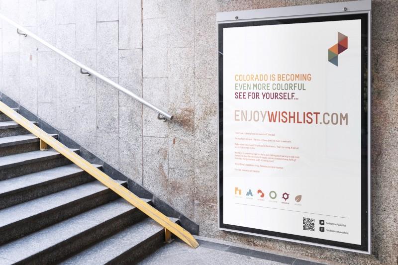 Wishlist Colorado / Identity, Webdesign (UI/UX)
