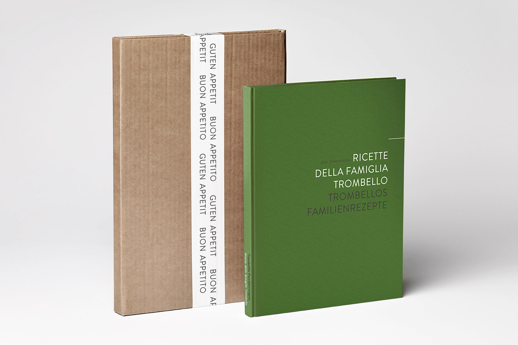Trombello's Familienrezepte / Buchdesign